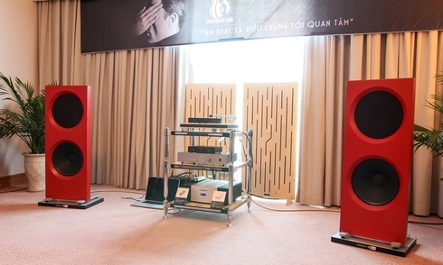 [Vietnam Hi-end Show] Audio Choice với phòng nghe Audio Thiên Hà & phòng nghe 3KShop